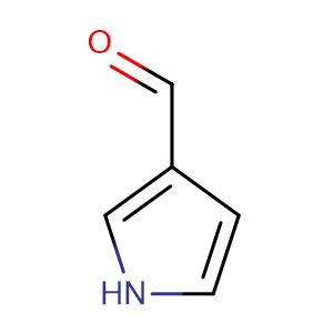 Pyrrole-3-carboxaldehyde,CAS No. 7126-39-8.