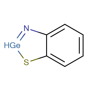 1,3,2-Benzothiazagermole,CAS No. 327-07-1.