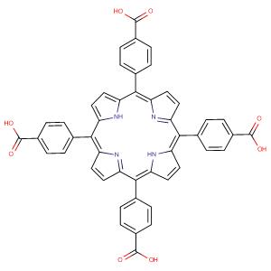 meso-Tetra(4-carboxyphenyl)porphine,CAS No. 14609-54-2.