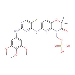 Fostamatinib,CAS No. 901119-35-5.