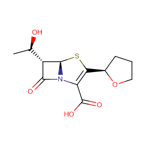 Faropenem sodium hemipentahydrate,CAS No. 106560-14-9.