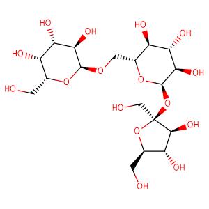 D-Raffinose,CAS No. 512-69-6.
