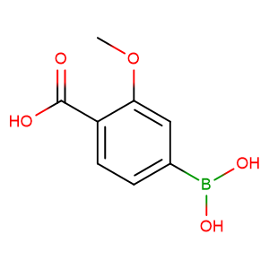 3-Methoxy-4-carboxyphenylboronic acid,CAS No. 851335-12-1.