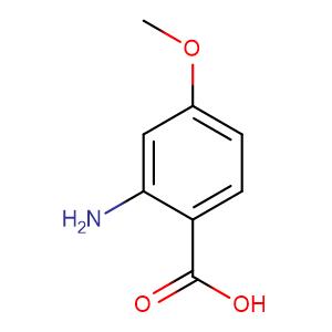 2-Amino-4-methoxybenzoic acid,CAS No. 4294-95-5.