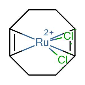 Dichloro(1,5-cyclooctadien)ruthenium(II) polymer,CAS No. 50982-13-3.