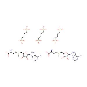 Ademetionine 1,4-butanedisulfonate,CAS No. 101020-79-5.
