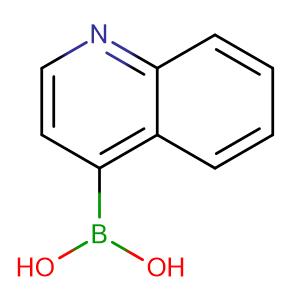 Quinolin-4-ylboronic acid,CAS No. 371764-64-6.