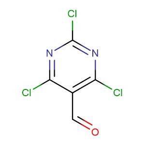 2,4,6-Trichloropyrimidine-5-carbaldehyde,CAS No. 50270-27-4.