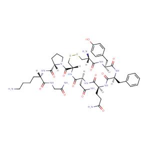 Lypressin,CAS No. 50-57-7.