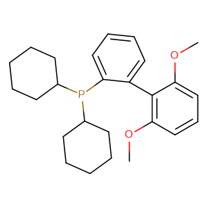 2-Dicyclohexylphosphino-2',6'-dimethoxybiphenyl,CAS No. 657408-07-6.