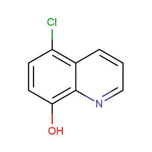5-Chloroquinolin-8-ol,CAS No. 130-16-5.