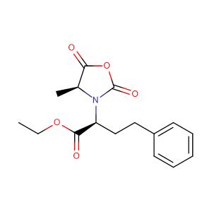 (S)-Ethyl 2-((S)-4-methyl-2,5-dioxooxazolidin-3-yl)-4-phenylbutanoate,CAS No. 84793-24-8.