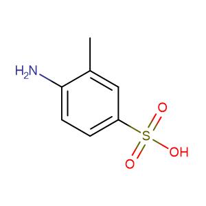 2-Aminotoluene-5-sulfonic acid,CAS No. 98-33-9.