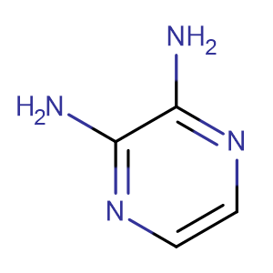 2,3-Diaminopyrazine,CAS No. 13134-31-1.