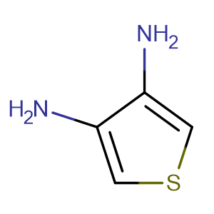 3,4-Diaminothiophene,CAS No. 78637-85-1.