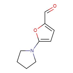 5-(Pyrrolidin-1-yl)furan-2-carbaldehyde,CAS No. 84966-28-9.