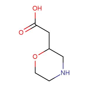 2-Morpholineaceticacid,CAS No. 180863-27-8.