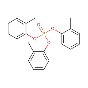Phosphoric acid, tris(2-methylphenyl) ester,CAS No. 78-30-8.