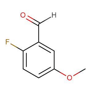 2-Fluoro-5-methoxybenzaldehyde,CAS No. 105728-90-3.