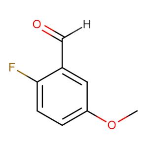 2-Fluoro-5-methoxybenzaldehyde,CAS No. 105728-90-3.