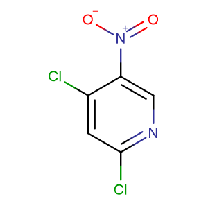 2,4-Dichloro-5-nitropyridine,CAS No. 4487-56-3.