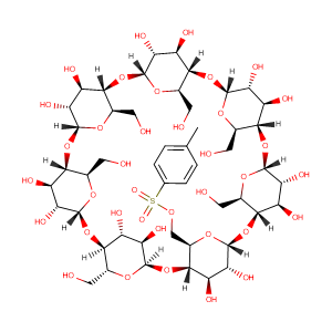 β-cyclodextrin monotosylate,CAS No. 67217-55-4.