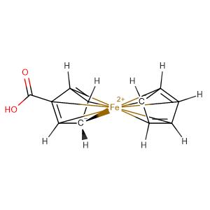 ferrocene monocarboxylic acid,CAS No. 1271-42-7.