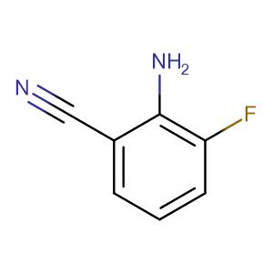2-Amino-3-fluorobenzonitrile,CAS No. 115661-37-5.
