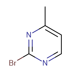 2-Bromo-4-methylpyrimidine,CAS No. 130645-48-6.
