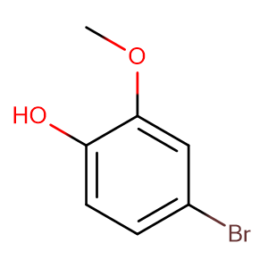 4-Bromo-2-methoxyphenol,CAS No. 7368-78-7.