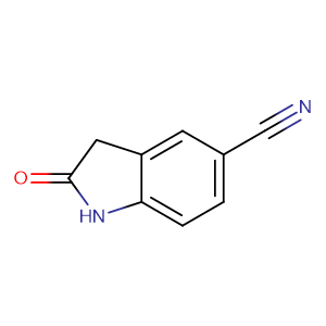 2-Oxoindoline-5-carbonitrile,CAS No. 61394-50-1.
