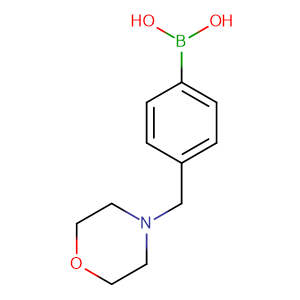 [4-(Morpholinomethyl)phenyl]boronic acid,CAS No. 279262-23-6.