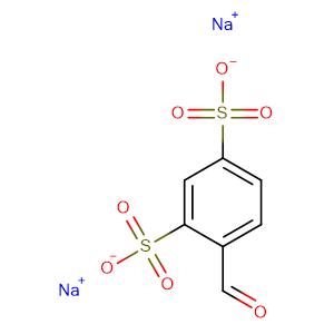 Sodium 4-formylbenzene-1,3-disulfonate,CAS No. 33513-44-9.