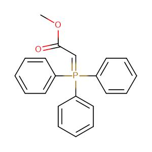 Carbomethoxymethylene triphenylphosphorane,CAS No. 2605-67-6.