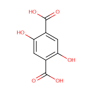 2,5-Dihydroxyterephthalic acid,CAS No. 610-92-4.