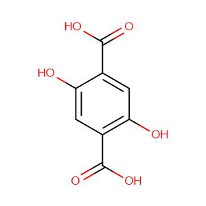 2,5-Dihydroxyterephthalic acid,CAS No. 610-92-4.