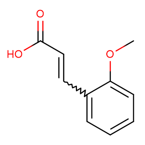 2-Methoxycinnamic acid,CAS No. 6099-03-2.