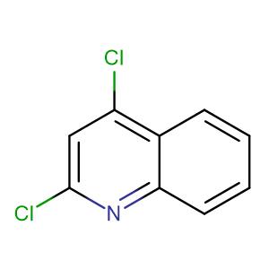 2,4-Dichloroquinoline,CAS No. 703-61-7.