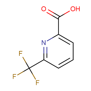 6-(Trifluoromethyl)picolinicacid,CAS No. 131747-42-7.