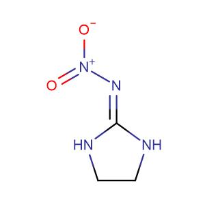 N-(Imidazolidin-2-ylidene)nitramide,CAS No. 5465-96-3.