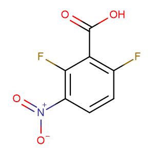 2,6-Difluoro-3-nitrobenzoic acid,CAS No. 83141-10-0.