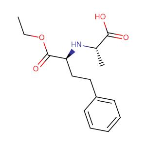 N-[(S)-(+)-1-(Ethoxycarbonyl)-3-phenylpropyl]-L-alanine,CAS No. 82717-96-2.