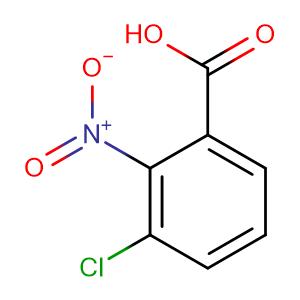 3-Chloro-2-nitrobenzoic acid,CAS No. 4771-47-5.