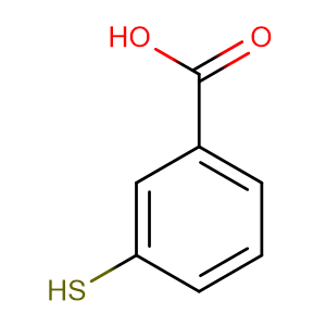 3-Mercaptobenzoic acid,CAS No. 4869-59-4.
