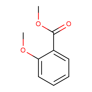Methyl 2-methoxybenzoate,CAS No. 606-45-1.