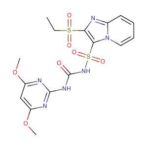 Sulfosulfuron,CAS No. 141776-32-1.