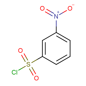 3-Nitrobenzenesulfonyl chloride,CAS No. 121-51-7.