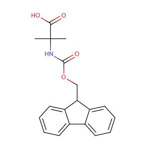Fmoc-2-Aminoisobutyric acid,CAS No. 94744-50-0.