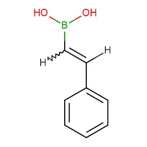 (E) - Phenylethenylboronic acid,CAS No. 6783-05-7.