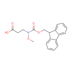 3-((((9H-Fluoren-9-yl)methoxy)carbonyl)(methoxy)amino)propanoic acid,CAS No. 247021-90-5.